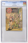 Golden Age (1938-1955):Miscellaneous, P.S. The Preventive Maintenance Monthly #3 File Copy (U. S. Army, 1951) CGC VF/NM 9.0 Off-white to white pages....