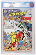 Silver Age (1956-1969):Superhero, The Brave and the Bold #54 Teen Titans - Western Penn pedigree (DC,1964) CGC NM+ 9.6 Off-white to white pages....