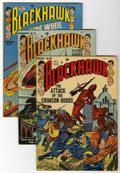 Silver Age (1956-1969):Adventure, Blackhawk Group (Quality, 1953-56) Condition: Average FN+.... (Total: 8 Comic Books)