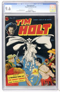Golden Age (1938-1955):Western, Tim Holt #17 (Magazine Enterprises, 1950) CGC NM+ 9.6 Whitepages....