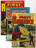 Silver Age (1956-1969):Romance, First Romance #25-28 File Copy Group (Harvey, 1953-54) Condition:Average VF+.... (Total: 4 Comic Books)