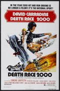 """Movie Posters:Cult Classic, Death Race 2000 (New World, 1975). One Sheet (27"""" X 41""""). CultClassic...."""