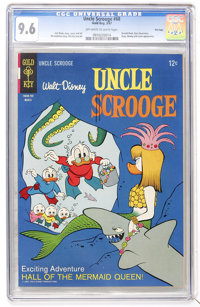 Uncle Scrooge #68 File Copy (Gold Key, 1967) CGC NM+ 9.6 Off-white to white pages