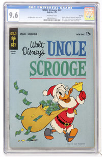 Uncle Scrooge #40 File Copy (Gold Key, 1963) CGC NM+ 9.6 Off-white pages