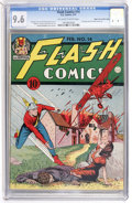 Golden Age (1938-1955):Superhero, Flash Comics #14 Mile High pedigree (DC, 1941) CGC NM+ 9.6 Off-white to white pages....