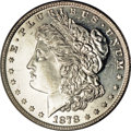 Morgan Dollars, 1878 7TF $1 Reverse of 1878 MS65 Deep Mirror Prooflike PCGS....