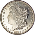 Morgan Dollars, 1882-S $1 MS66 Deep Mirror Prooflike PCGS....