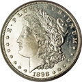 Morgan Dollars, 1898-S $1 MS65 Deep Mirror Prooflike PCGS....