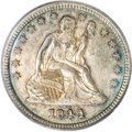 Seated Quarters, 1844 25C MS65 PCGS....