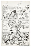 Original Comic Art:Panel Pages, Dick Ayers and Carl Hubbell - Sgt. Fury #22, page 8 Original Art(Marvel, 1965)....