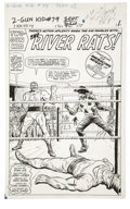 Original Comic Art:Splash Pages, Dick Ayers and Carl Hubbell - Two-Gun Kid #79, Splash page 1Original Art (Marvel, 1966)....