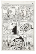 Original Comic Art:Panel Pages, Dick Ayers and Carl Hubbell - Two-Gun Kid #79, page 2 Original Art(Marvel, 1966)....