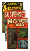 Golden Age (1938-1955):Horror, Miscellaneous Golden and Silver Age Horror Group (VariousPublishers, 1953-62) Condition: Average GD.... (Total: 9 ComicBooks)