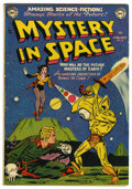 Golden Age (1938-1955):Science Fiction, Mystery in Space #8 (DC, 1952) Condition: VG+....