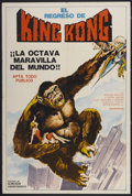 """Movie Posters:Science Fiction, King Kong Escapes (Toho, 1967). Argentinean Poster (29"""" X 43.5""""). Science Fiction...."""