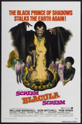 "Movie Posters:Blaxploitation, Scream Blacula Scream (American International, 1973). One Sheet(27"" X 41""). Blaxploitation...."