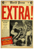 Golden Age (1938-1955):Adventure, Extra! #1 (EC, 1955) Condition: VF+....