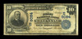 National Bank Notes:Pennsylvania, Green Lane, PA - $10 1902 Date Back Fr. 618 The Valley NB Ch. # (E)9084. ...