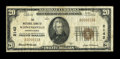 National Bank Notes:Pennsylvania, Schwenksville, PA - $20 1929 Ty. 1 The NB of Schwenksville Ch. #2142. ...