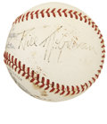 Autographs:Baseballs, 1944 Bill McGowan Signed Baseball....