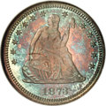 Proof Seated Quarters, 1873 25C Closed 3 No Arrows PR67 NGC....