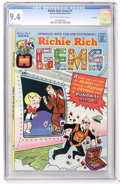 Bronze Age (1970-1979):Cartoon Character, Richie Rich Gems #1 File Copy (Harvey, 1974) CGC NM 9.4 Off-whiteto white pages....