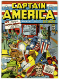 Golden Age (1938-1955):Superhero, Captain America Comics #1 (Timely, 1941) Condition: Apparent FN/VFExtensive (P)....