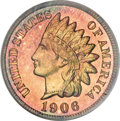 Proof Indian Cents, 1906 1C PR67 Red PCGS....