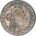 Early Dimes, 1804 10C 14 Stars on Reverse VF35 PCGS....