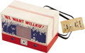 Political:Miscellaneous Political, Wendell Willkie: Unusual Cardboard Campaign Radio....