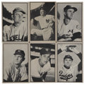 Baseball Cards:Sets, 1953 Bowman Black and White Set (64). . ...