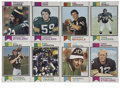 Football Cards:Sets, 1973 Topps Football Near Complete Set (514/528).. ...