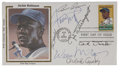 Autographs:Others, 1962 San Francisco Giants Greats Multi-Signed First Day Cover....