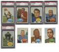 Football Cards:Sets, 1960 Topps Football Complete Set (132). . ...