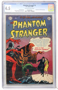 Golden Age (1938-1955):Horror, The Phantom Stranger #1 (DC, 1952) CGC VG+ 4.5 Off-white to whitepages....