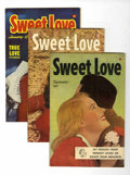 Golden Age (1938-1955):Romance, Sweet Love #1-5 File Copies Group (Harvey, 1949-50) Condition:Average VF/NM.... (Total: 5 Comic Books)
