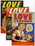 Golden Age (1938-1955):Romance, Love Lessons #1-5 File Copies Group (Harvey, 1949-50) Condition:Average VF/NM.... (Total: 5 Comic Books)