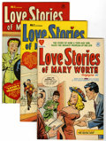 Golden Age (1938-1955):Romance, Love Stories of Mary Worth #1-4 File Copies Group (Harvey, 1949-50)Condition: Average VF.... (Total: 4 Comic Books)