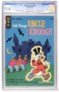 Uncle Scrooge #63 File Copy (Gold Key, 1966) CGC NM 9.4 Off-white to white pages