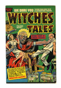 Golden Age (1938-1955):Horror, Witches Tales #11 (Harvey, 1952) Condition: FN+....