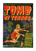Golden Age (1938-1955):Horror, Tomb of Terror #3 (Harvey, 1952) Condition: VF-....