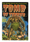 Golden Age (1938-1955):Horror, Tomb of Terror #1 (Harvey, 1952) Condition: VG....