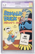 Golden Age (1938-1955):Cartoon Character, Four Color #29 Donald Duck (Dell, 1943) CGC Apparent FN 6.0Moderate (A) Cream to off-white pages....