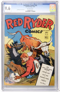 Golden Age (1938-1955):Western, Red Ryder Comics #20 (Dell, 1944) CGC NM+ 9.6 Off-white pages....