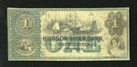 Hoboken, NJ- Hudson River Bank $1 186_ This is the first dollar denominated note we have had on this bank. The National...