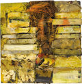 Fine Art - Painting, American:Contemporary   (1950 to present)  , DENNIS HARE (American). Reflections, 2001. Mixed media assemblage. 36 x 36 inches (91.4 x 91.4 cm) . Signed, dated and t...