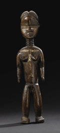 Other: , Dan or Gio (Liberia). Female Figure. Wood, pigment. Height: 17 ¼ inches Width: 4 ¼ inches Depth: 2 ¾ inches. Figures are...