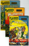 """Golden Age (1938-1955):Classics Illustrated, Classics Illustrated First Editions Group - Davis Crippen (""""D"""" Copy) pedigree (Gilberton, 1949-50).... (Total: 9)"""