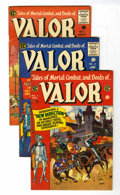 Golden Age (1938-1955):Adventure, Valor #1-5 Group (EC, 1955) Condition: Average FN/VF.... (Total: 5 Comic Books)