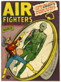 Golden Age (1938-1955):War, Air Fighters Comics V2#6 (Hillman Fall, 1944) Condition: FN....